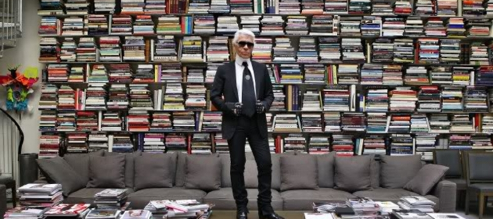 Go Inside Karl Lagerfeld39s Apartment In Paris Photosk Architectural Digest Karl Lagerfeldl Captivating Architectural Digest Karl Lagerfeldo